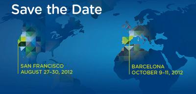 VMworld 2012 dates