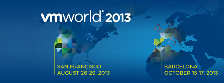 VMworld 2013 banner dates