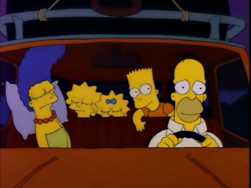 Simpsons Are We There Yet