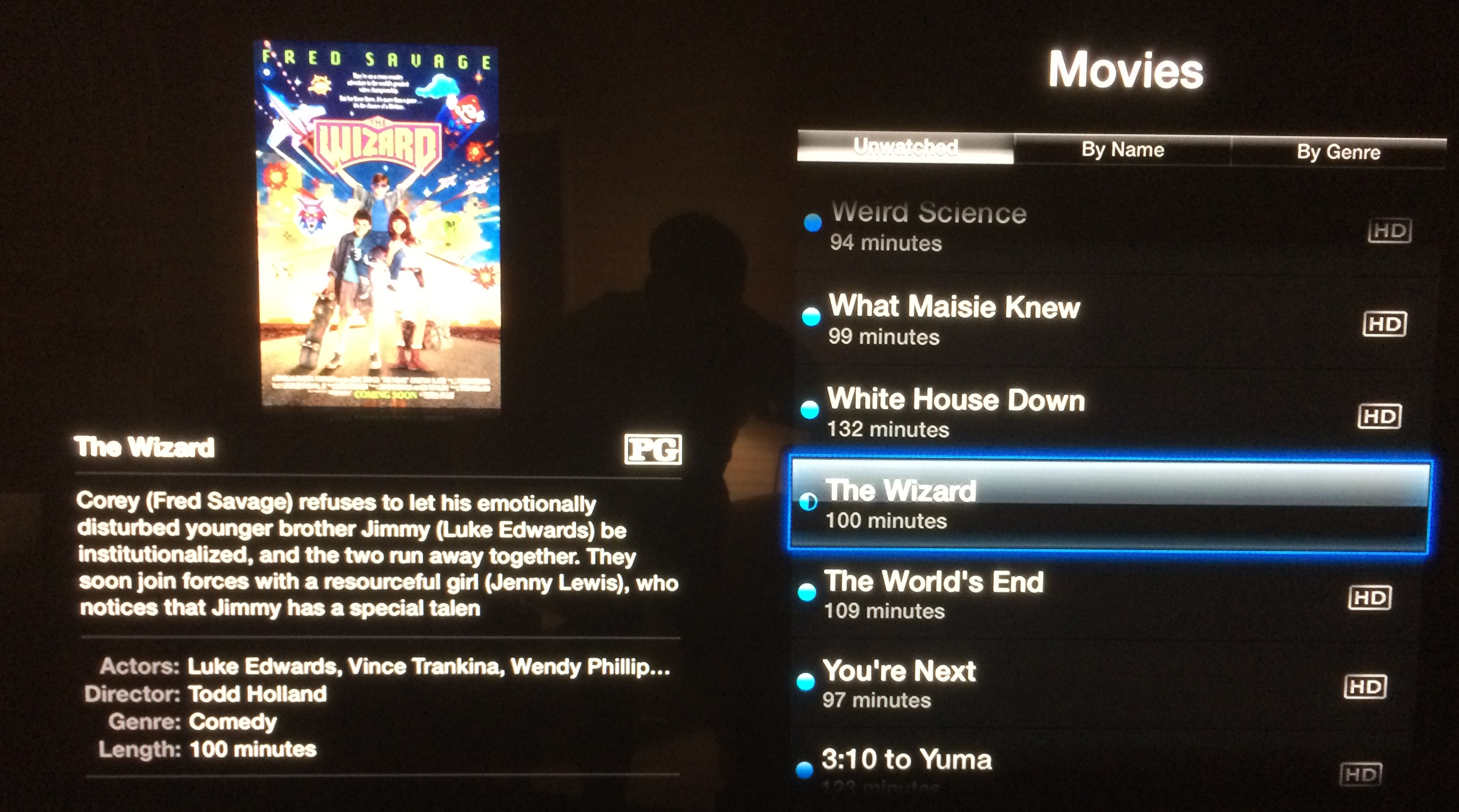 The Wizard on Apple TV