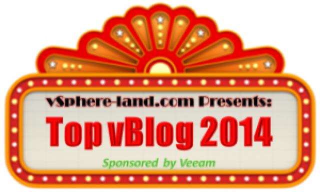 vSphere-Land 2014 Top 50 vBlogs