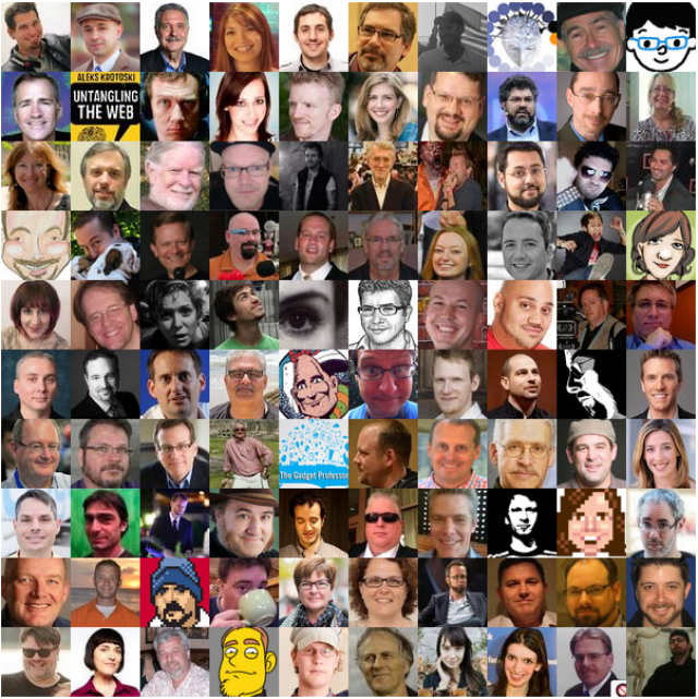 Top 100 Tech Podcasters on Twitter